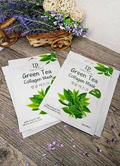 Тканева маска для обличчя зелений чай