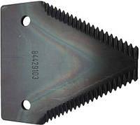 Сегмент ножа жатки New Holland 84429103, 429103, 321219850, 84435879, 87728899