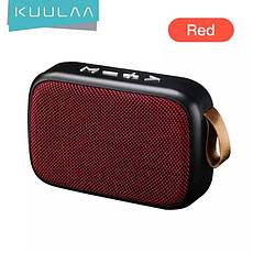 Беспроводная Bluetooth колонка Kuulaa с поддержкой FM-радио, USB, microSD карт Gray, фото 3