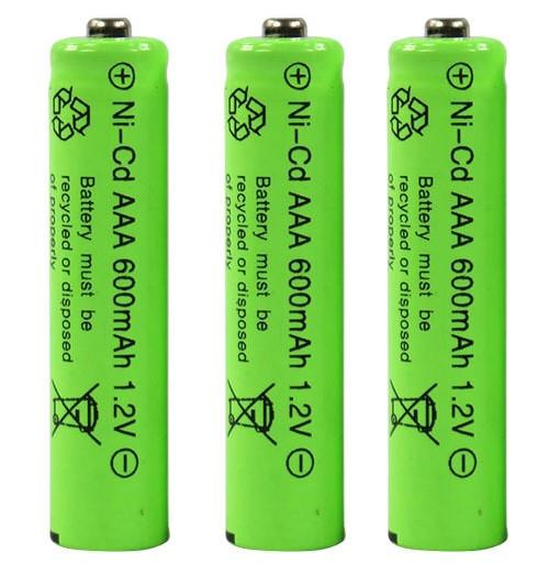 Акумулятор AAA 1.2 V 600 mAh Ni-Cd