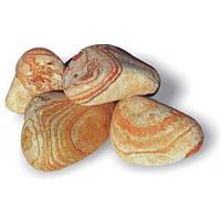 Мраморная галька Радужный камень 50-100 мм