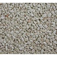 Натуральный камень галька мраморная белая Верона 1-4 мм.