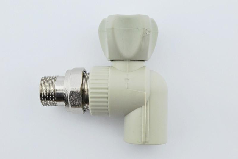 Кран радиаторный угловой Koer k0158.pro 25x3/4