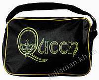 Рок-сумка - QUEEN (лого желтое)