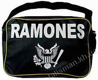 Рок-сумка - RAMONES (лого)