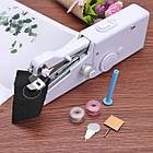 ОПТ Міні швейна машинка ручна Handy Stitch Mini Sewing Machine автономна портативна, фото 2