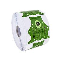 Формы для наращивания ногтей Salon (зеленые) 500 шт.