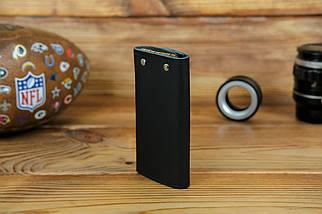 Ключниця на кнопках, шкіра Grand, колір Чорний, фото 2
