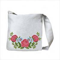 Заготовка сумочки под вышивку бисером Розы и незабудки