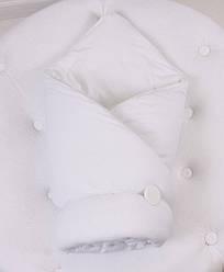 Демисезонный конверт-одеяло ВВ (белый)