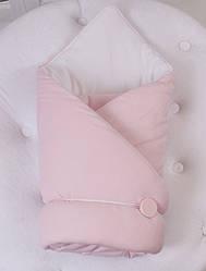 Демисезонный конверт-одеяло ВВ (розовый)