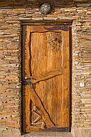 Двери деревянные из массива входные №9, фото 1