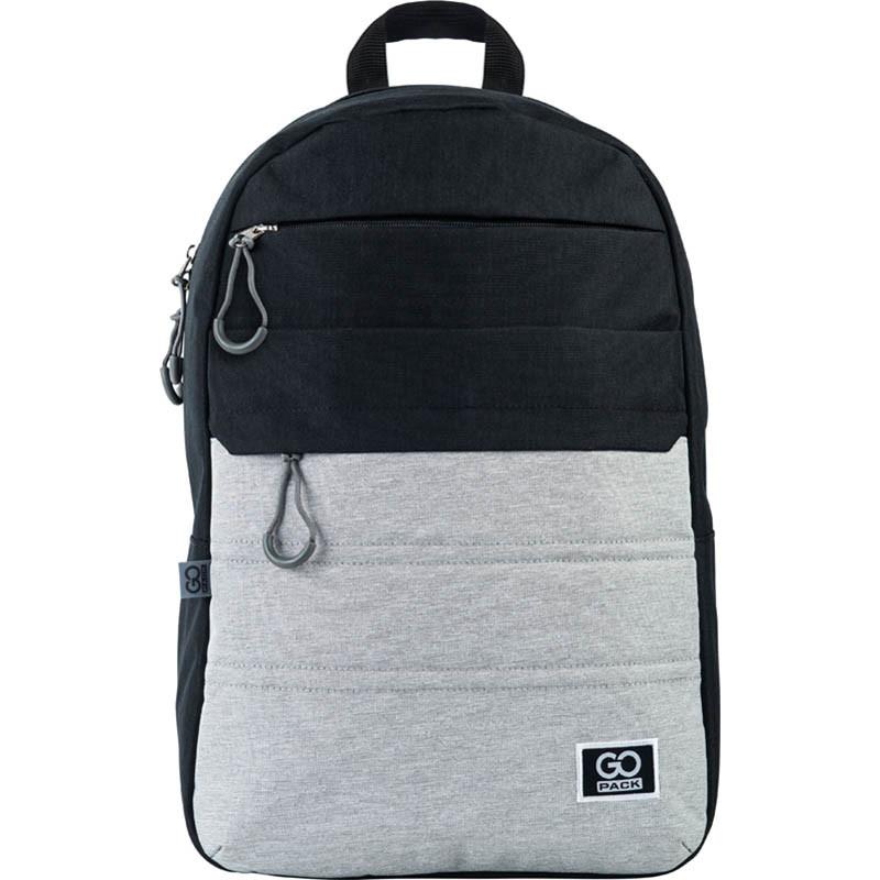 Рюкзак для міста GoPack 118 City GO21-118L-2 44.5х29.5х14.5 см 350 г 20 л чорний, сірий