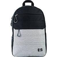 Рюкзак для міста GoPack 118 City GO21-118L-2 44.5х29.5х14.5 см 350 г 20 л чорний, сірий, фото 1