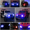 Електромобіль дитячий Jeep X10 з пультом управління білий (9367), фото 6
