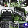 Електромобіль дитячий Jeep X10 з пультом управління зелений (9368), фото 4