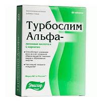 Эвалар «Турбослим Альфа-липоевая кислота и L-карнитин» Таблетки 60 шт