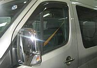 Mercedes Sprinter 906 Ветровики 2 шт Sunflex Standart