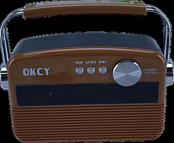 Портативна колонка OKCY-A11 (Коричневий)