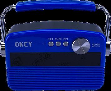 Портативна колонка OKCY-A11 (Синій)