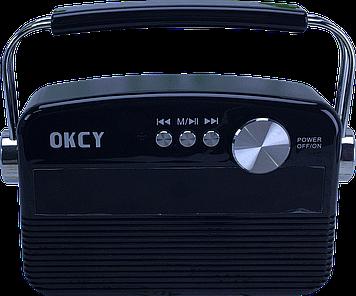 Портативна колонка OKCY-A11 (Чорний)