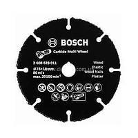 Отрезной круг, твердосплавный, по дереву 115x22.23x1,2 Bosch