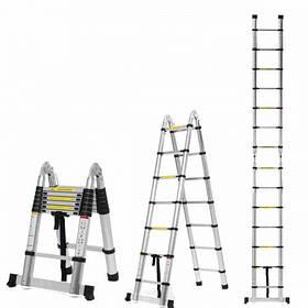 Телескопические лестницы Stark STS и стремянки Stark STSD