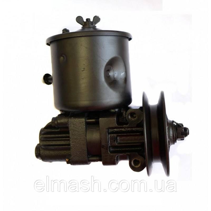 Насос ГУР ЗИЛ 130, ЛИАЗ-677 (с бачком) (со шкивом) (пр-во Автогидроусилитель)