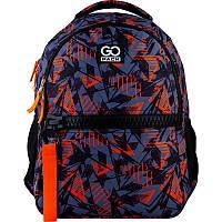 Рюкзак для города GoPack 161 City GO21-161M-1  42х30х13 см  500 г  20 л  черный, оранжевый, фото 1