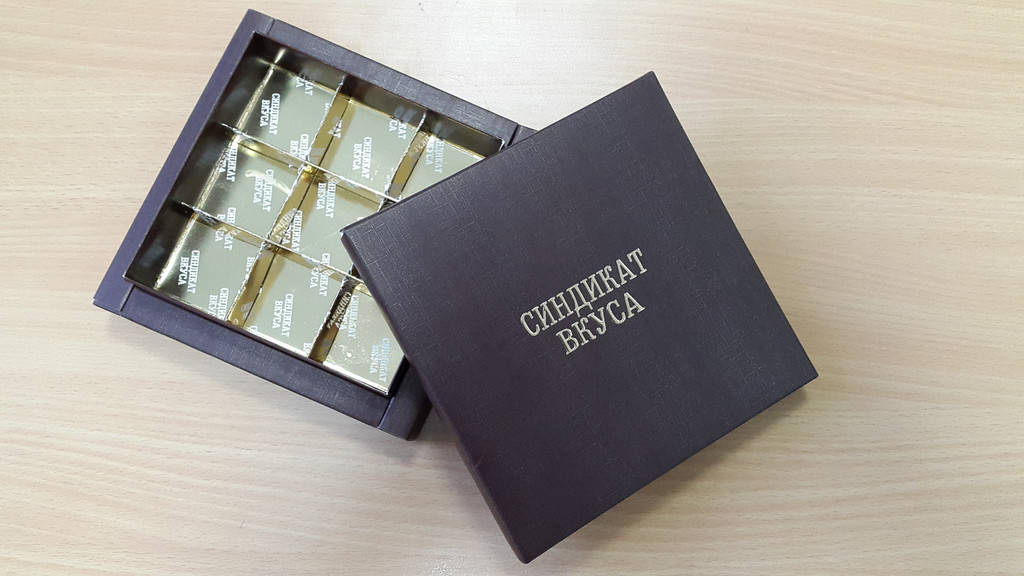 Коробка для Синдиката Вкуса