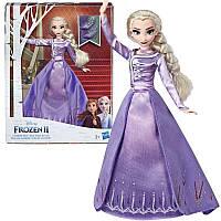 Кукла Холодное сердце Эльза с ресницами в делюкс наряде Frozen 2 Elsa Disney Hasbro E6844