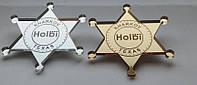 Значок шерифа с логотипом