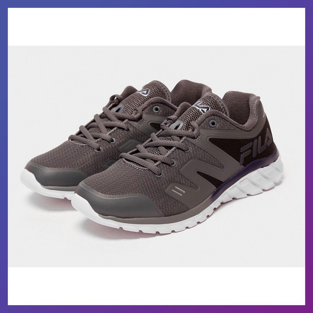 Кроссовки для подростков Fila Tempera 4 Junior Original серый цвет. Фила Оригинал 37.5 размер