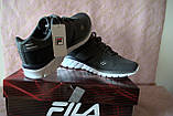 Кроссовки для подростков Fila Tempera 4 Junior Original серый цвет. Фила Оригинал 37.5 размер, фото 2