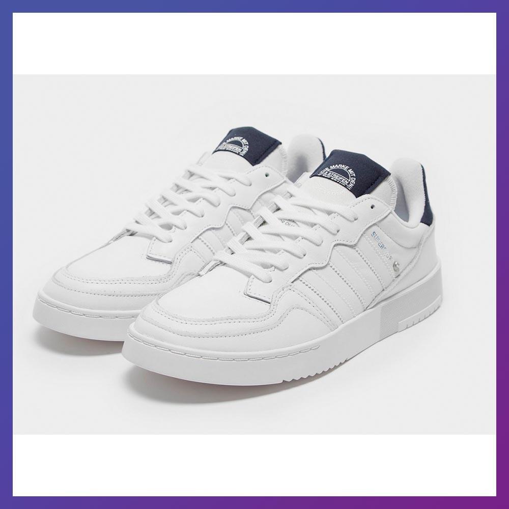 Мужские кроссовки Adidas Supercourt Originals FV7880 белые для прогулок . Адидас Оригинал 43-44 размер