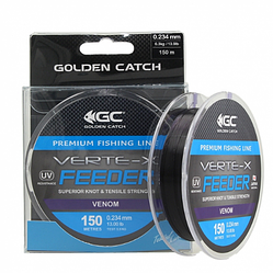 Леска Golden Catch Verte-X Feeder VN 150м 0.309мм