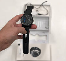 Умные часы Smart Watch Max Robotics Hybrid Sporttech ZX-01 BLACK Гибрид Smart Watch механика и электроника