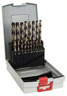 Набор сверл по металлу Bosch HSS-Co 135° 1-10мм 19шт. 2608587014, фото 1