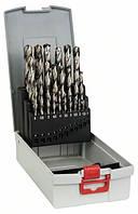 Набор сверл по металлу Bosch HSS-G 135° 1-13мм 25 шт. 2608587017, фото 1