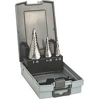Сверла ступенчатые Bosch HSS Pro Box 4-12/4-20/6-30 2608587426, фото 1