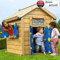 """Домик детский деревянный для улицы """"Джунгли"""" Киев"""