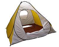 Палатка автомат желтая 2х2