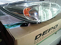 Передние фары, задние фонари, противотуманки, указатели поворота на автомобиль