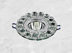 Точечный стеклянный врезной светильник (16-096)