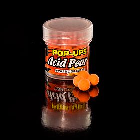 Поп Ап CarpZone Pop-Ups Method & Feeder Acid Pear (Кисла Груша) 8mm/30pc