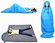 Оригинальный спальный мешок KingCamp Oasis 300(KS3151) / 5°C, L Blue 94858 синий, фото 4