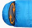 Оригинальный спальный мешок KingCamp Oasis 300(KS3151) / 5°C, L Blue 94858 синий, фото 5