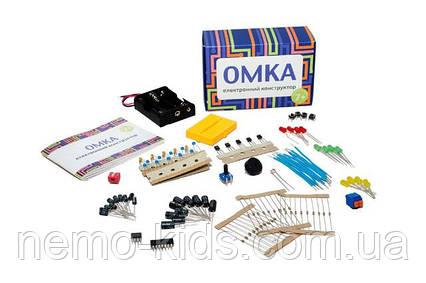 Электронный конструктор - ОМКА, научные опыты, развивающий конструктор.