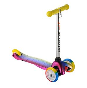 Детский самокат трехколесный Best Scooter MAXI со светом колес