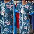 Літній трикотажний халат великі розміри 46 -68, фото 3